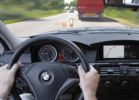 BMW ve HUD (Head-Up-Display) teknolojisi !
