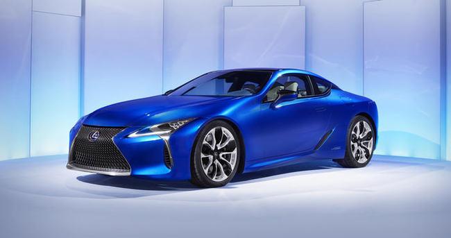 Lexus'un En Yenisi: LC 500h