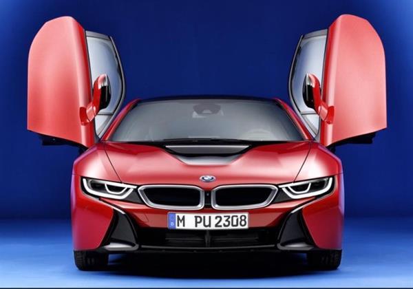 """BMW'den i8 için ilk özel seri """"Protonic Red Edition"""""""