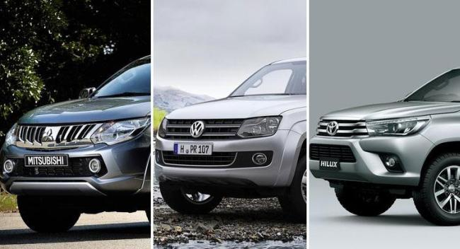 Mitsubishi L200, Toyota Hilux, Volkswagen Amarok karşılaştırması !