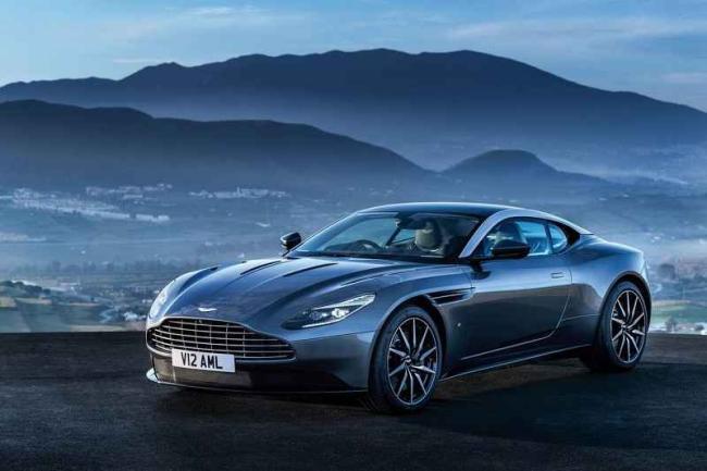 Aston Martin DB11 2016 Model Fotoğrafları !
