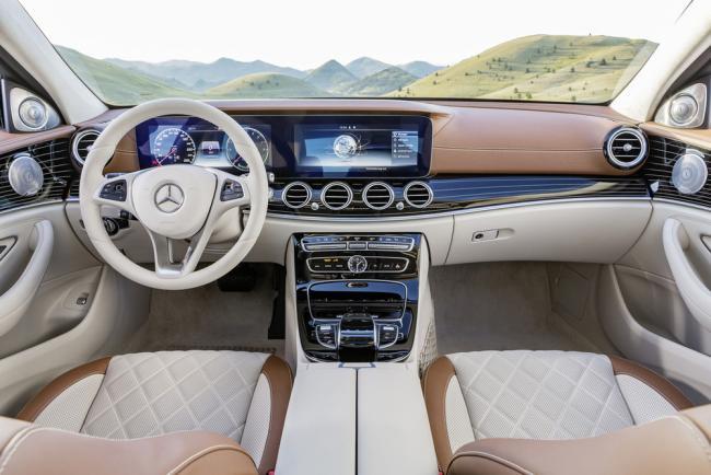 Yeni Kasa 2016 Model Mercedes E Serisi W213