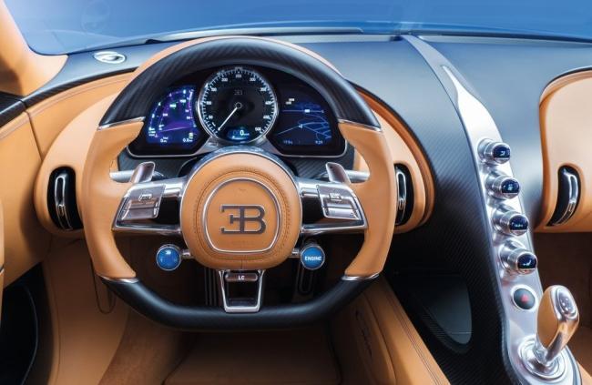 Dünyanın en hızlı otomobili Bugatti Chiron