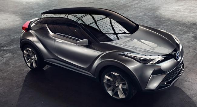 Toyota'nın yeni modeli Toyota C-HR Türkiye'de üretilecek