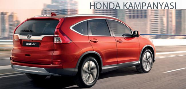 Otomobil Kampanyası Honda Mart 2016