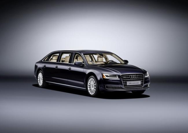 Audi: A8L Extended En Uzun Audi
