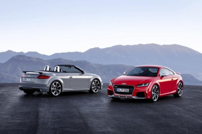 Yeni Audi TT RS Coupe ve Roadster 2016 Model