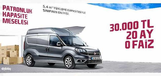 Fiat Doblo Mayıs 2016 Fiyat Listesi, Kampanyası