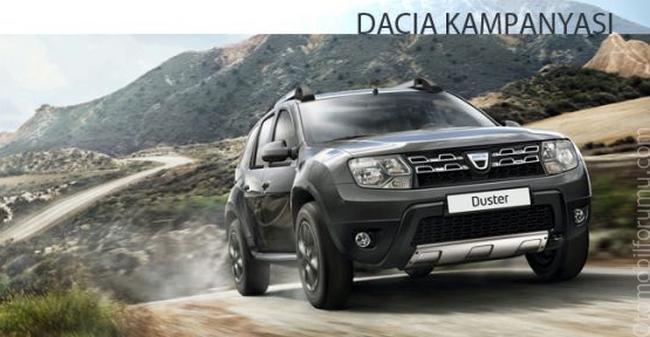 Dacia Nisan ayı Kampanyası