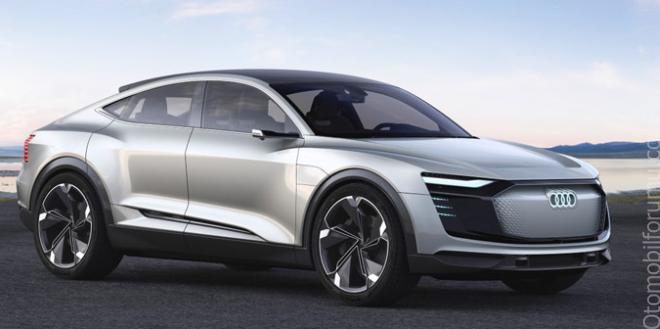 Geleceğin Spor Otomobili Audi E-tron Sportback