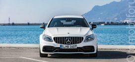 Yeni Model Mercedes-AMG C63 makyajlı seri