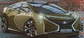 Lada'dan süper otomobil – Lada Questa