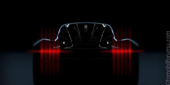 Aston Martin'in en yeni modeli – project-003!