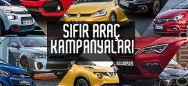 Nisan Ayı Sıfır Araç Otomobil Kampanyaları