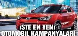 2019 Nisan Ayı Otomobil Kampanyaları