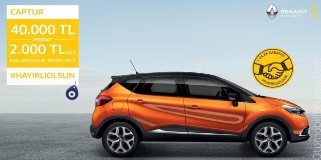 Renault CAPTUR Nisan Ayı Kampanyaları