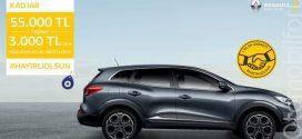 Renault Kadjar Nisan Ayı Kampanyaları