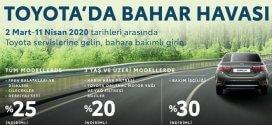 Toyota Bahar Servis Kampanyası