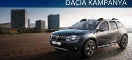 Dacia Duster Ekim Ayı Kampanya Detayları