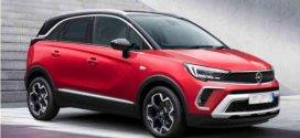 Opel Crossland 2021 Teknik Özellikleri
